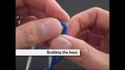 آموزش بافت دستبند با گره ی ماری نایب السلطنه