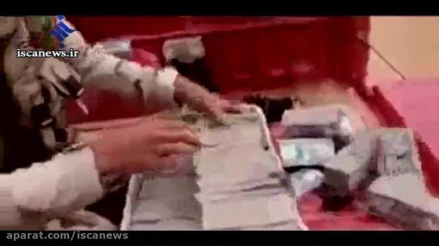 توقف  خودرو حمل پول داعش توسط نیروهای امنیتی عراق