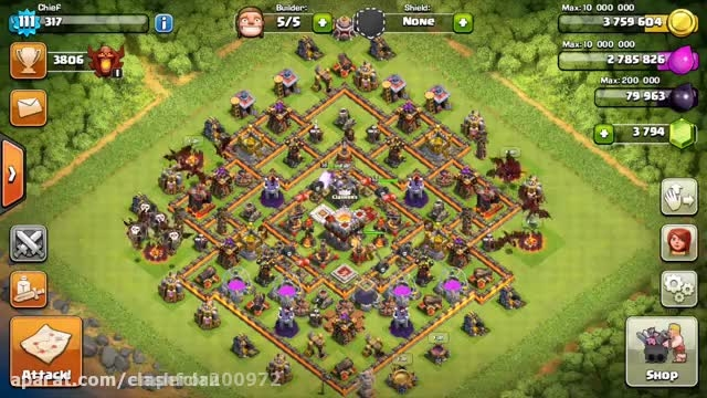 Clash of clans update town hall 11 grand warden part 2