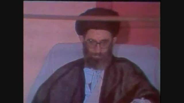 سخنرانی امام خمینی (ره) پس از ترور آیت الله خامنه ای