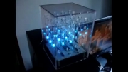 مکعب ال ای دی زیبا