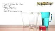 ساخت گرداب در بطری شیشه ای