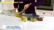 آموزش انواع دسر در روزمنو  - ژله لایه ای با میوه
