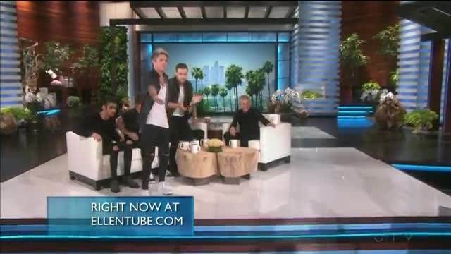 one direction interview ellen