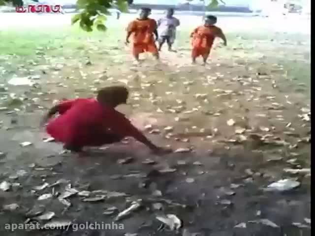 دعوا مبارزه رزمی میان کودکان (فیلم گلچین صفاسا)