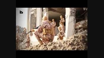 فیلم زنده سوزاندن خلبان اردنی به دست داعش +18
