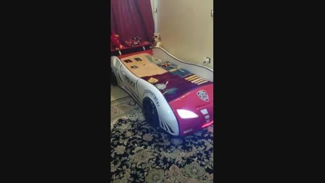 تخت خواب ماشینی مدل پلیس آراچوب