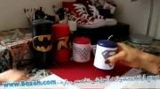 شمع آرایی - ساخت لوگوی واندر ومن و سوپرمن روی شمع