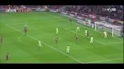 گل فابرگاس به ختافه - بارسلونا 1 - ختافه 0