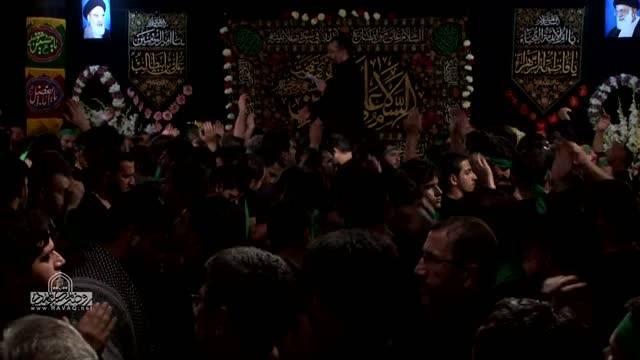 حاج محمود کریمی و حاج محمد کمیل شب ششم محرم 94 واحد 1