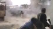 القصیر سوریه - دستپاچگی تروریست ها در اولین ساعات حمله ارتش سوریه و حزب الله به شهر القصیر