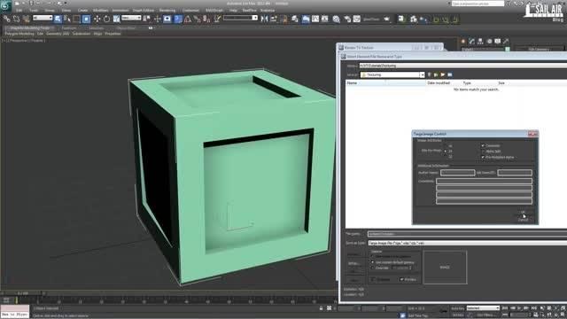 ایجاد بافت در محیط سه بعدی فتوشاپ