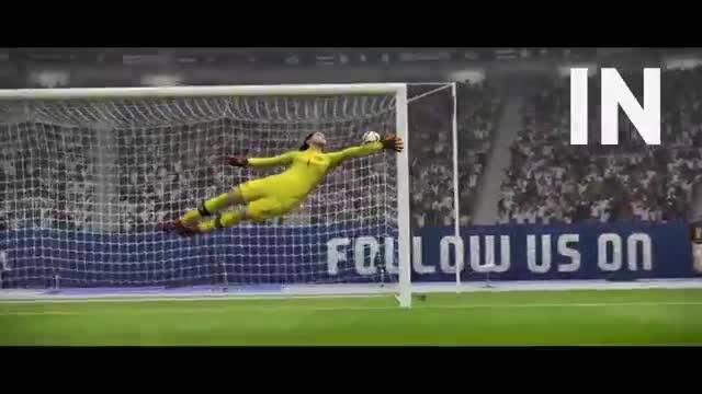 FIFA 16 vs PES 2016 | E3 Trailer Gameplay - YouTube