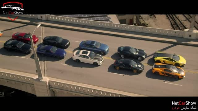 نبرد در خیابان لس آنجلس با8سوپر اسپرت دیگر دور دومNT555