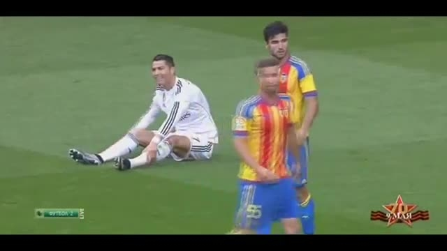 هایلایت کامل بازی کریستیانو رونالدو مقابل والنسیا