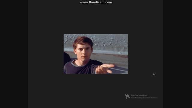 یه فیلم از مرد عنکبوتی خیلی کوتاه خیلی باحاله