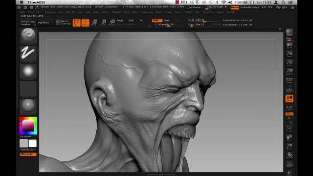 CGcircuit - Designing a Scary Creature 1