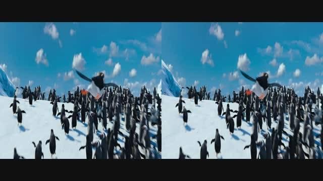قسمت کوتاه انیمیشن سه بعدی  Happy Feet Two 2011 3D