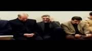 حاج قاسم سلیمانی و دکتر قالیباف در سوگ شهید سرلشکر کاظمی