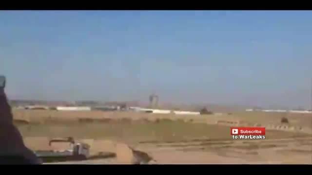 موشک باران دقیق و نابودی مواضع تروریست های داعش