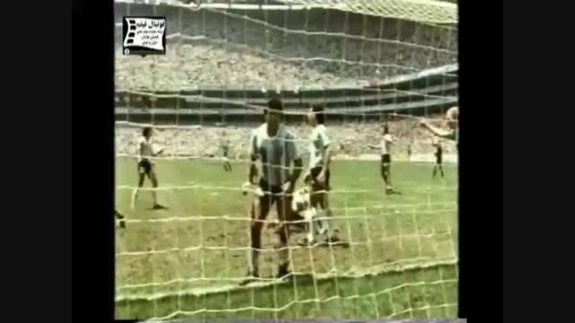 معرفی فوتبال های قدیمی جام های جهانی