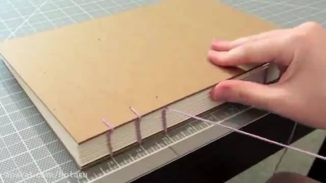 چگونه اسکچ بوک درست کنیم