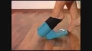اختراع جوراب پا کن ؛ مخصوص تنبل های باکلاس جامعه !!