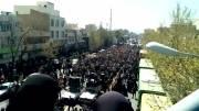 عظمت تشییع شهید ناهی از منکر شهید علی خلیلی 93.01.05