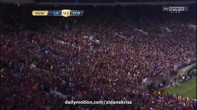 خلاصه بازی : بارسلونا 2 - 1 لس آنجلس گلکسی (دوستانه)