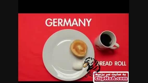 انواع صبحانه ها در کشورهای مختلف جهان