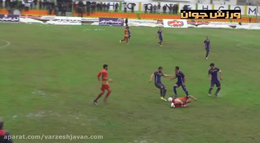 آب بازی بازیکنان خونه به خونه و شهرداری اردبیل