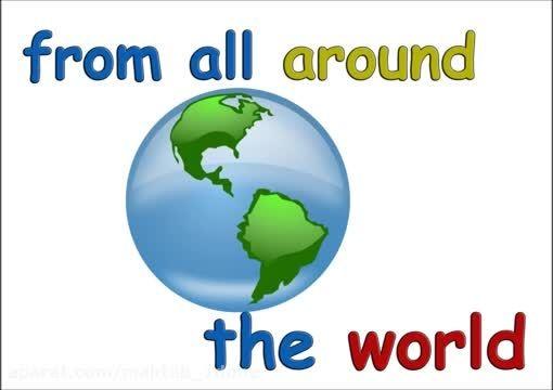 دانلود شعر انگلیسی سلام به همه کودکان دنیا زبان انگلیسی