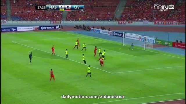 گل های بازی : منتخب مالزی 1 - 1 لیورپول (دوستانه)