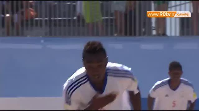 خلاصه فوتبال ساحلی: تاهیتی ۴-۳ ماداگاسکار