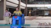 نظافت صنعتی- دستگاه اسکرابر- زمین شوی- اسکرابر صنعتی