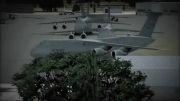 معرفی هواپیمای سنگین ترابری گلکسی C-5
