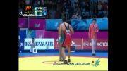 بازی های آسیایی(کشتی- صعود بویری به نیمه نهایی)