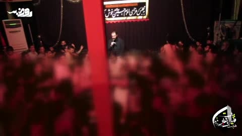 حاج مهدی اکبری-شب چهارم صادقیه94-زمینه بی عمامه بین...
