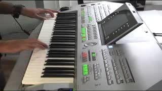 نوازندگی با Yamaha Tyros2 تست صدای سنتور و تار