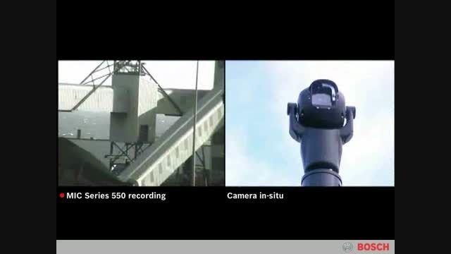 کاربرد دوربین مداربسته MIC 550 در شرایط مختلف - Bosch