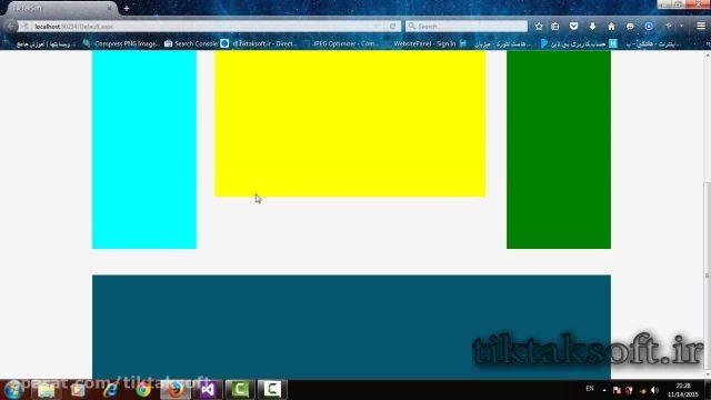 فیلم آموزشی HTML , CSS جلسه ی سوم مدرس محمد بخشنده