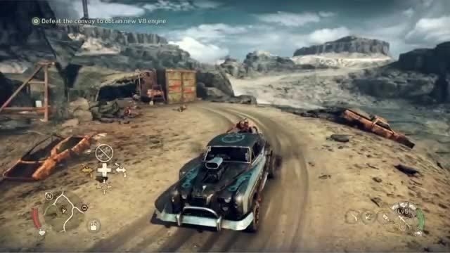 ده دقیقه گیم پلی بازی Mad Max از وب سایت Guard3d.com