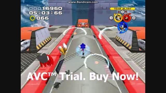 Sonic Heroes - Egg Fleet Stage 13 - Team Sonic