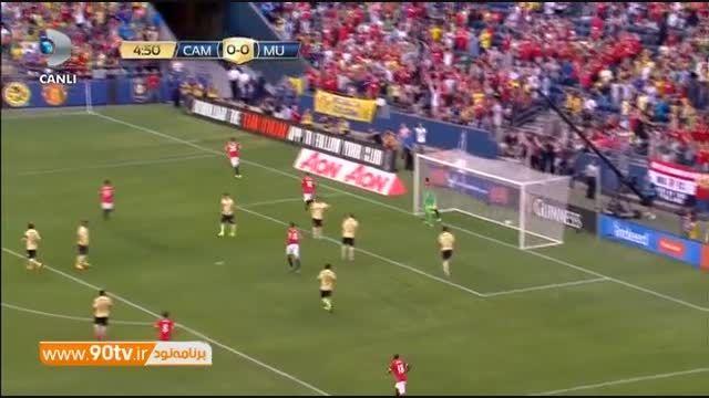 خلاصه بازی: کلوب آمه ریکا ۰-۱ منچستریونایتد