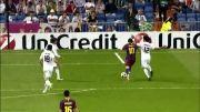 گل زیبای لیونل مسی به رئال مادرید