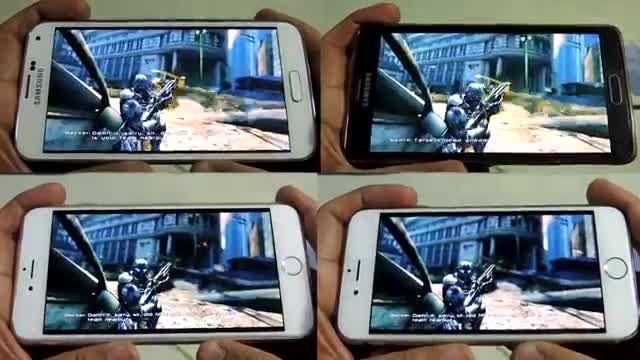 Iphone 6 Plus Vs Note 4 Vs Iphone 6 Vs GS5 _Nova 3