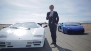 مقایسه ی لامبورگینی Aventador با لامبورگینی Countach