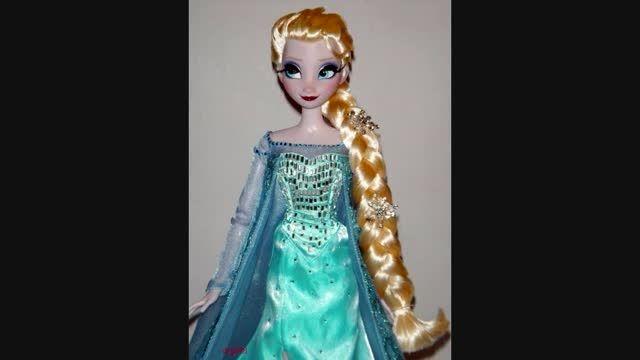 *عروسکها و باربی های السا و آنا*