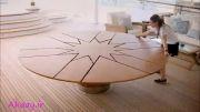 میز بسیار جالب و خلاقانه