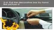 نصب DVD و GPS بروی خودروی مزدا 3